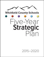 Cover image of Whitfield County Schools Five-Year Strategic Plan